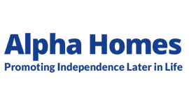 Alpha Homes logo